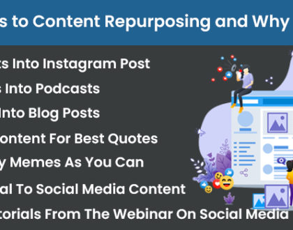 7 Genuine Ways to Content Repurposing and Why it's Important?
